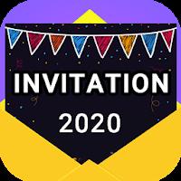 Invitation maker 2020 Birthday & Wedding card Free Icon