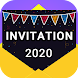 Invitation maker 2020 Birthday & Wedding card Free