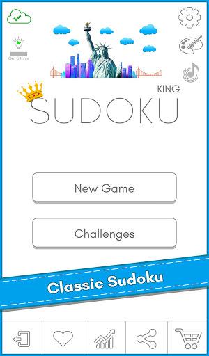 Sudoku Kingu2122 - Free Classic Sudoku puzzles 1.2 screenshots 17