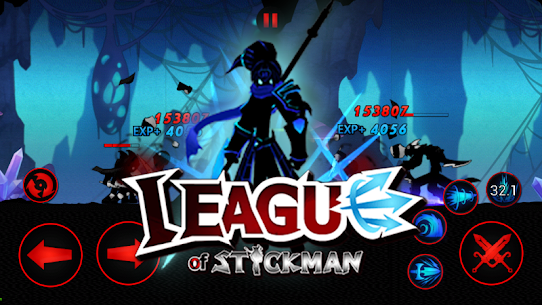 League of Stickman 2020 Mod Apk (Free Shopping) 5