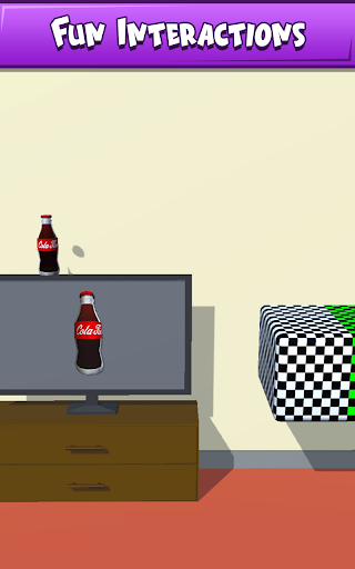 Télécharger Bottle Flip- 3D challenge APK MOD (Astuce) screenshots 1