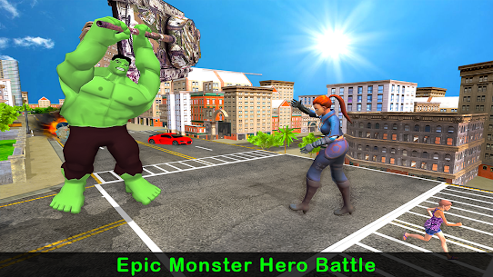 Incredible Monster City Battle Apk Download 3
