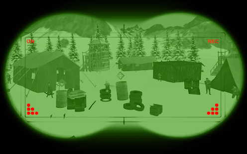 Mountain Sniper Shooting: 3D FPS Screenshot