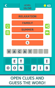 Word Guess - Pics and Words