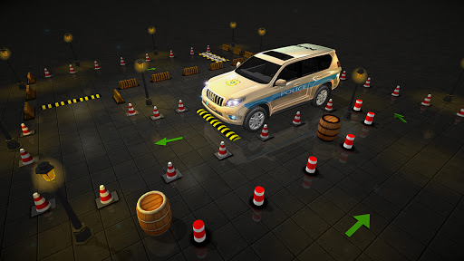 Advance Police Parking - Smart Prado Games modavailable screenshots 3