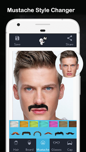 Men Hair Style - Photo Editor - Men Hair Editor  Screenshots 9