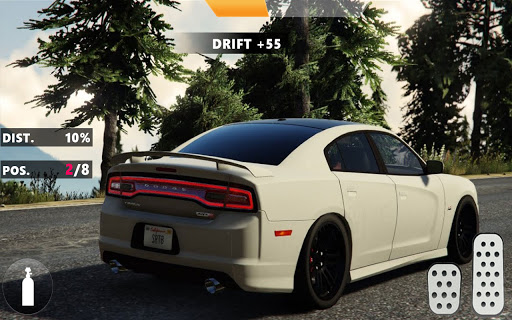 Mustang Dodge Charger: City Car Driving & Stunts  Screenshots 4
