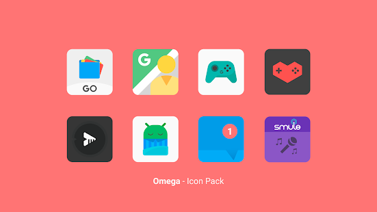 Omega - Icon Pack Screenshot