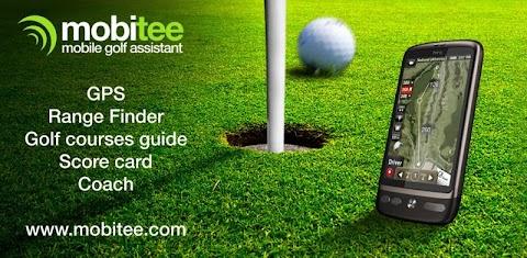 Mobitee GPSゴルフ距離計のおすすめ画像1