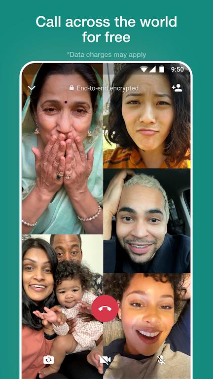 WhatsApp Messenger  poster 2