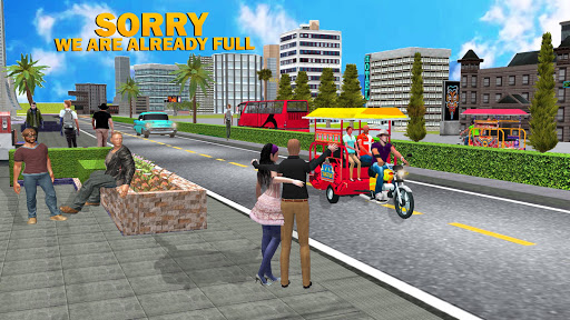 Chingchi Game Simulator : Crazy Tuk Tuk Rickshaw 1.6 screenshots 6
