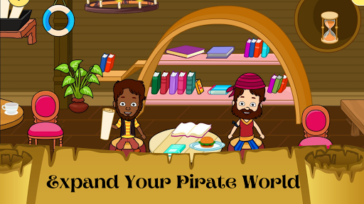My Pirate Town - Sea Treasure Island Quest Games 1.4 Screenshots 7