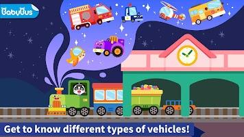 Baby Panda's Book of Vehicles