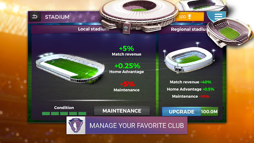Women's Soccer Manager (WSM) - Football Management 1.0.42 screenshots 2