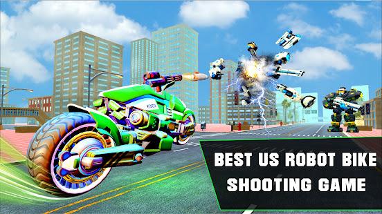 Grand Robot Bike Transform City Attack 1.14 Screenshots 9