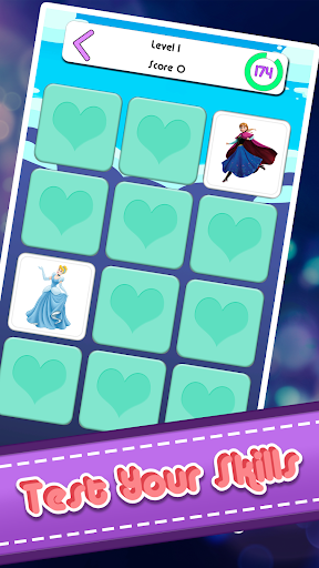 Memory Game - Princess Memory Card Game apkpoly screenshots 5