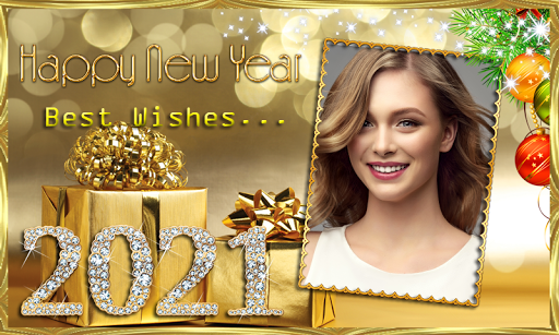 Happy New Year 2021 Photo Frames Greeting Wishes 1.0.1 Screenshots 6