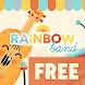 Guitar & Drum Rainbow Band FREE