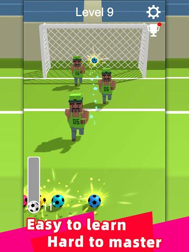 Straight Strike - 3D soccer shot game screenshots 7