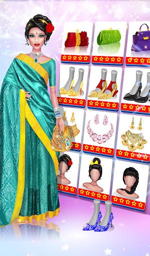 Wedding Fashion Stylist: Indian Dress up & Makeup 1.0 screenshots 14