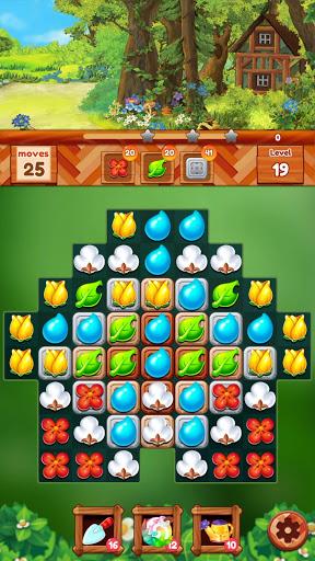Garden Dream Life: Flower Match 3 Puzzle Apkfinish screenshots 13