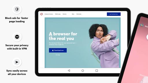 Foto do Opera Browser: Fast & Private