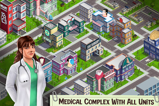 Doctor Surgery Games- Emergency Hospital New Games screenshots 4