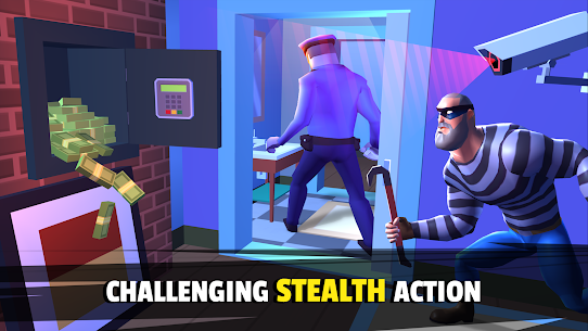 Robbery Madness 2: Stealth Master Thief Simulator Mod Apk 2.0.9 (Unlimited Money) 3