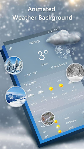 Weather Forecast App 16.6.0.6271_50157 Screenshots 3