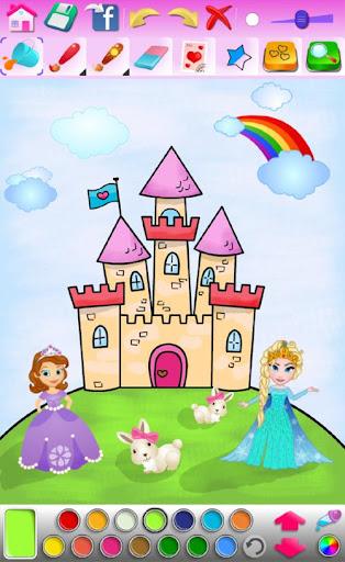 Princess Coloring Game screenshots 12