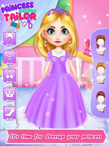 Tailor Fashion Games: ud83dudc78 Princess Clothing Design 1.3 screenshots 4