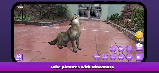 Dinosaur 3D AR - Augmented Reality 2.2.0 screenshots 2