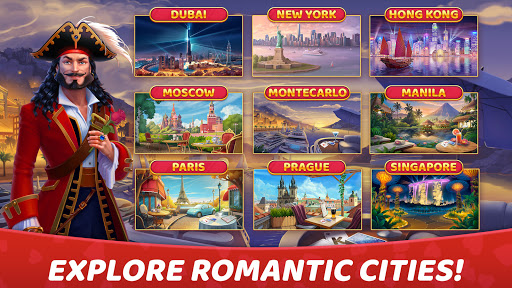 Solitaire Cruise: Classic Tripeaks Cards Games android2mod screenshots 9