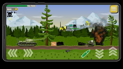 Tank Battle War 2d: game free apktram screenshots 7