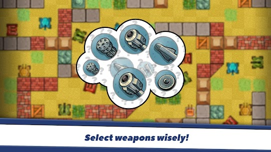Awesome Tanks Mod Apk 1.312 (Unlimited Money) 1