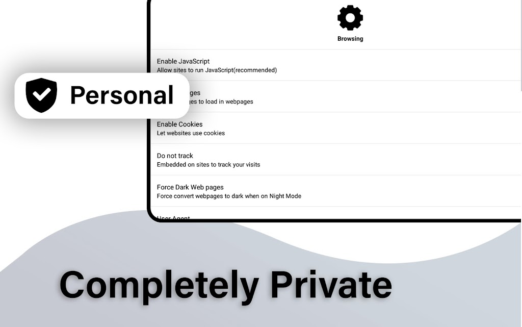 Incognito Browser Pro - Complete Private Browser  poster 9