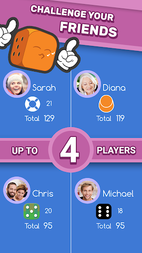 dice clubs - social dice poker screenshot 2