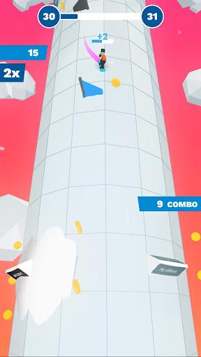 Code Triche Chilly Slide: A Geometry Slalom Winter Games Saga mod apk screenshots 2