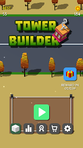 Tower Builder – Stack them up MOD Apk 1.0.3 (Unlimited Money) 1