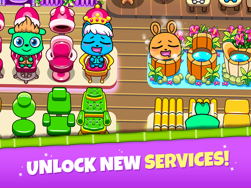 Forest Folks - Your Own Adorable Pet Spa screenshots 8