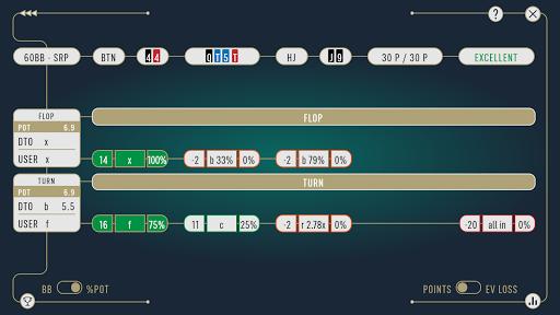 DTO Poker - Your GTO MTT Poker Trainer screenshots 8
