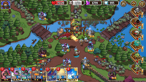 Crazy Defense Heroes: Tower Defense Strategy Game 2.4.0 screenshots 7