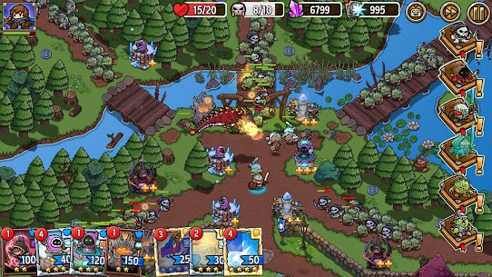Crazy Defense Heroes: Tower Defense Strategy Mod Apk (Unlimited Resources) 7