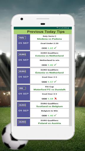 VIP Betting Tips - Expert Prediction 12.0 Screenshots 3