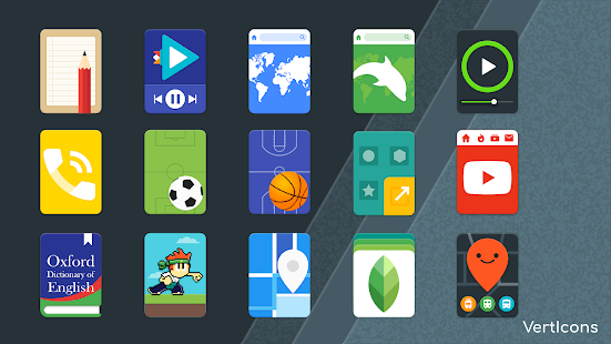Verticons - Free icon pack Screenshot