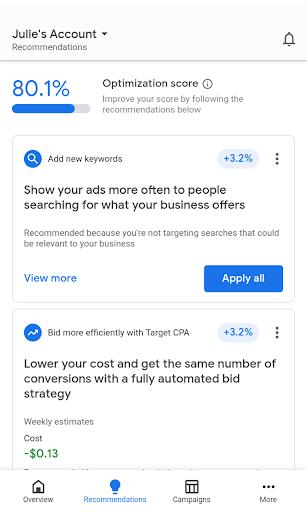 Google Ads 2.23.338152554 Screenshots 2