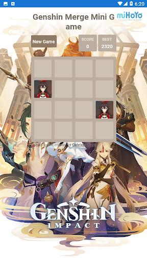 Code Triche Genshin Merge - Mini Game (Astuce) APK MOD screenshots 1
