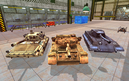 Tank Blitz Fury: Free Tank Battle Games 2019 apkpoly screenshots 4