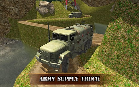 US OffRoad Army Truck driver 2021 9