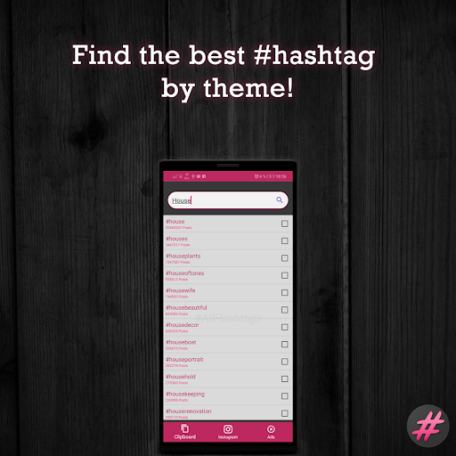 ? english hashtags generator for instagram screenshot 2